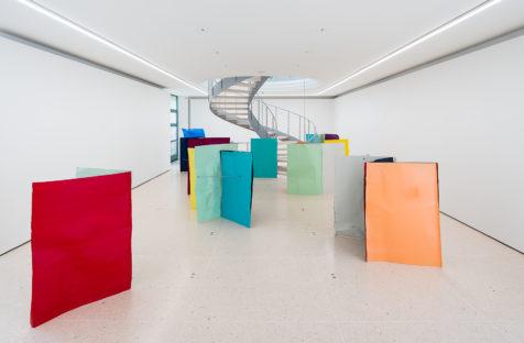 Michael KIENZER,Ausstellungsansicht,2017;Flyer 2017